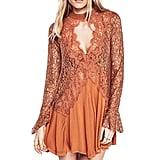 Bessla Lace Cotton Mini Dress