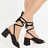 UO Maggie Lace-Up Heel