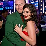 Pictured: Sam Smith and Lorde