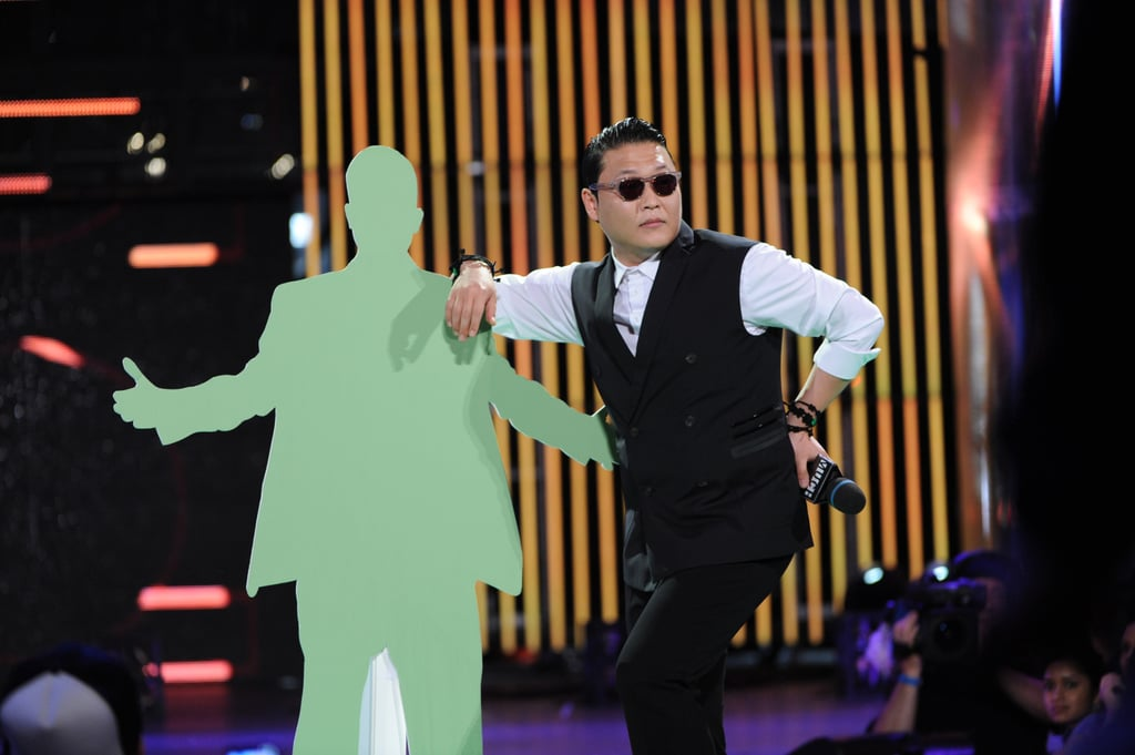 PSY hosted the bash.