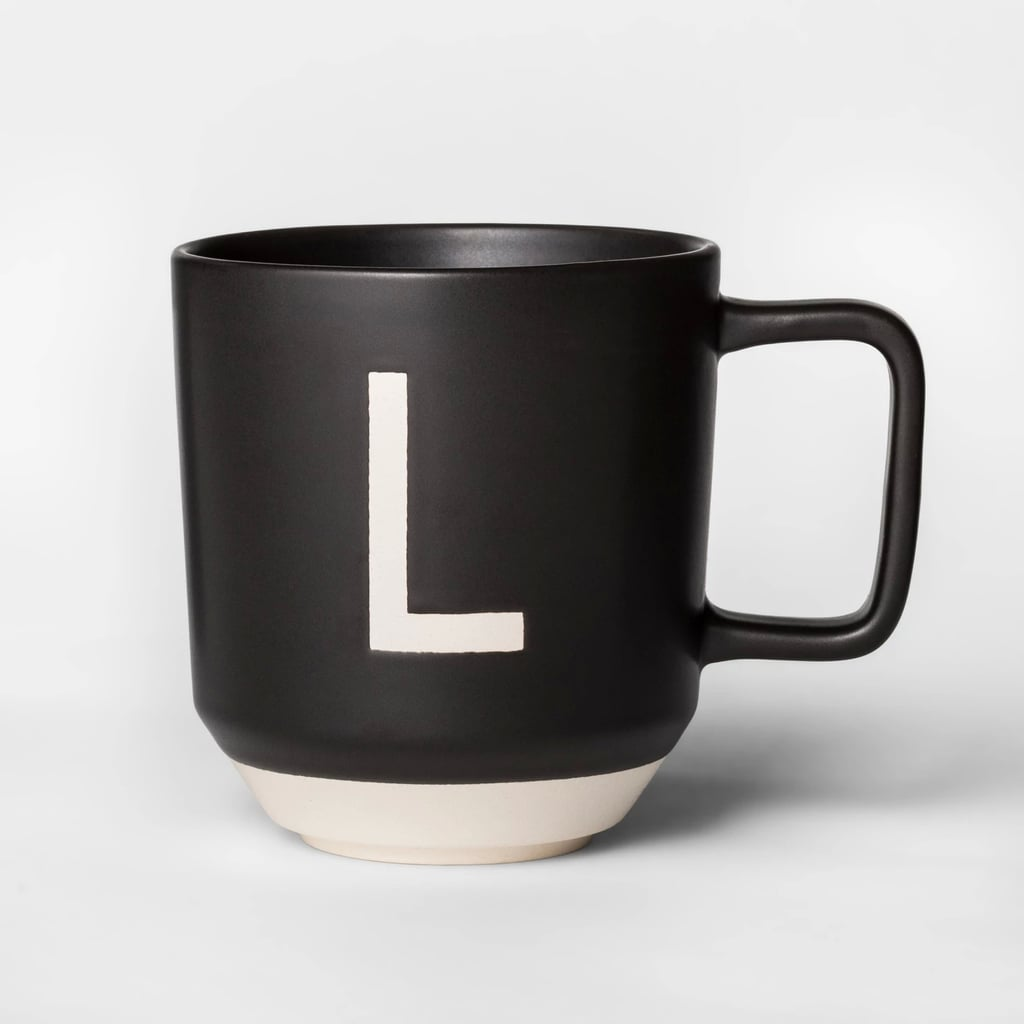 Monogram Stoneware Mug