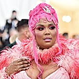 Lizzo Wearing Her Met Gala Outfit at the Airport Video
