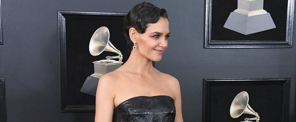 Katie Holmes Let Her Gray Roots Shine at the Grammys, and We Love Her For It