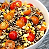 Quinoa, Black Bean, Corn, and Tomato Salad