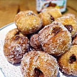Nutella-Stuffed Cronut Holes