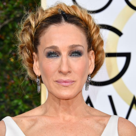 Sarah Jessica Parker Princess Leia Hair 2017 Golden Globes