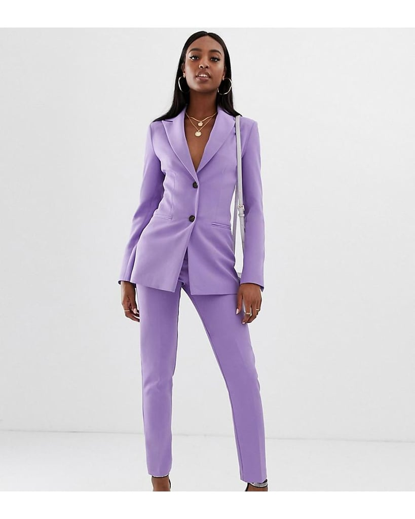ASOS Design Tall Pop Suit in Lilac