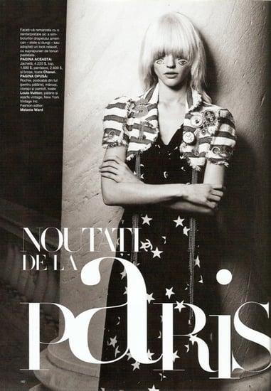Sasha Pivovarova for News from Paris editorial