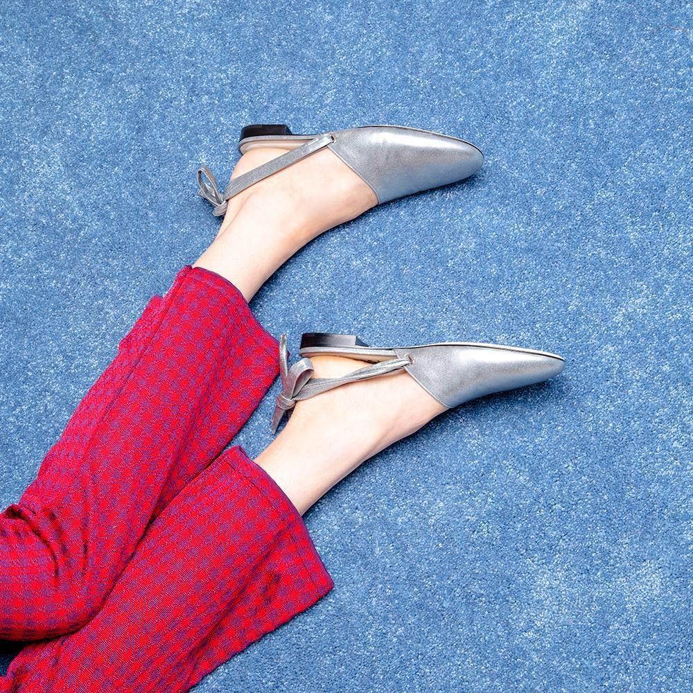 Slipper Behavior in Lustrous Silver