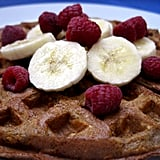 If waffles are more your thing, but still have a healthy conscience, then look no further than these Cinnamon Oatmeal Waffles. The oats are also paired with flaxmeal, so you'll know you'll be getting a full fibre breakfast.