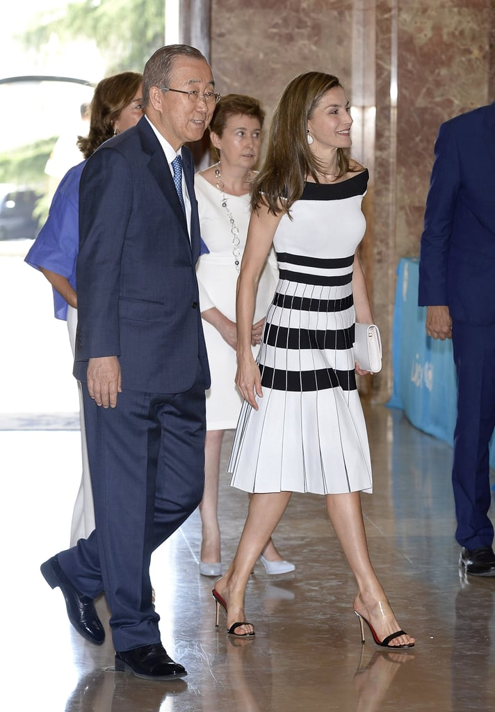 We Never Expected Queen Letizia to Wear These Shoes — but We Love Them!