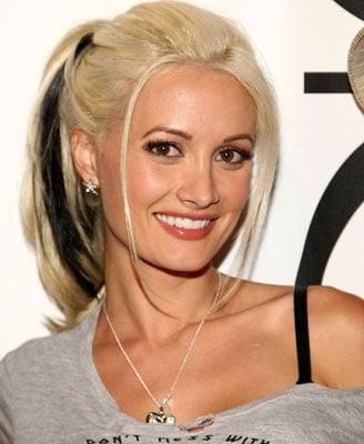 Love It or Hate It? Holly Madison's Black Hair Extensions