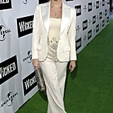 Reese Witherspoon in White Suit at 2005 Wicked LA Opening