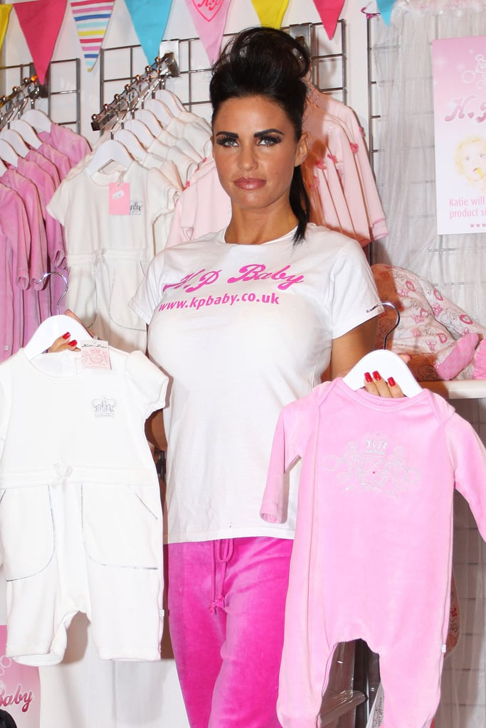 Pictures of Katie Price at Baby Show