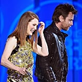 Julianne Moore and Ewan McGregor