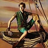 Allison Williams as Peter Pan.