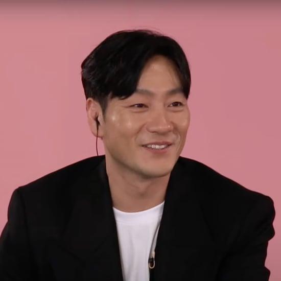 Squid Game's Park Hae-soo Talks Newborn Son on Tonight Show