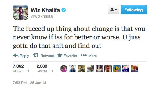 Weirdly, Wiz Khalifa makes complete sense.