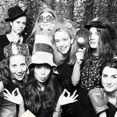 Colleagues, collaborators, drinking buddies. #popsugarrocks