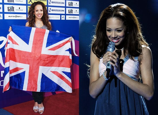14/5/2009 Jade Ewen UK Entry Eurovision Song Contest 2009