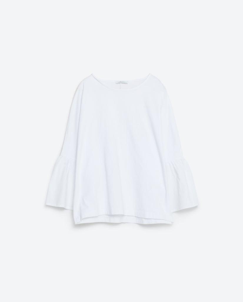 Poplin Sleeves Shirt ($23)