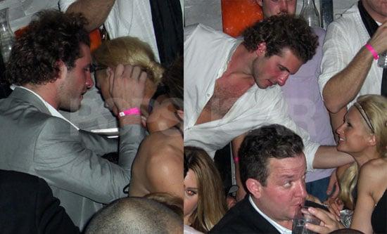 Photos of Paris Hilton Getting Cozy With Stavros Niarchos in Miami