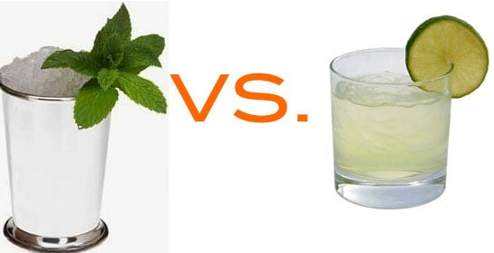 Mint Julep vs. Margarita