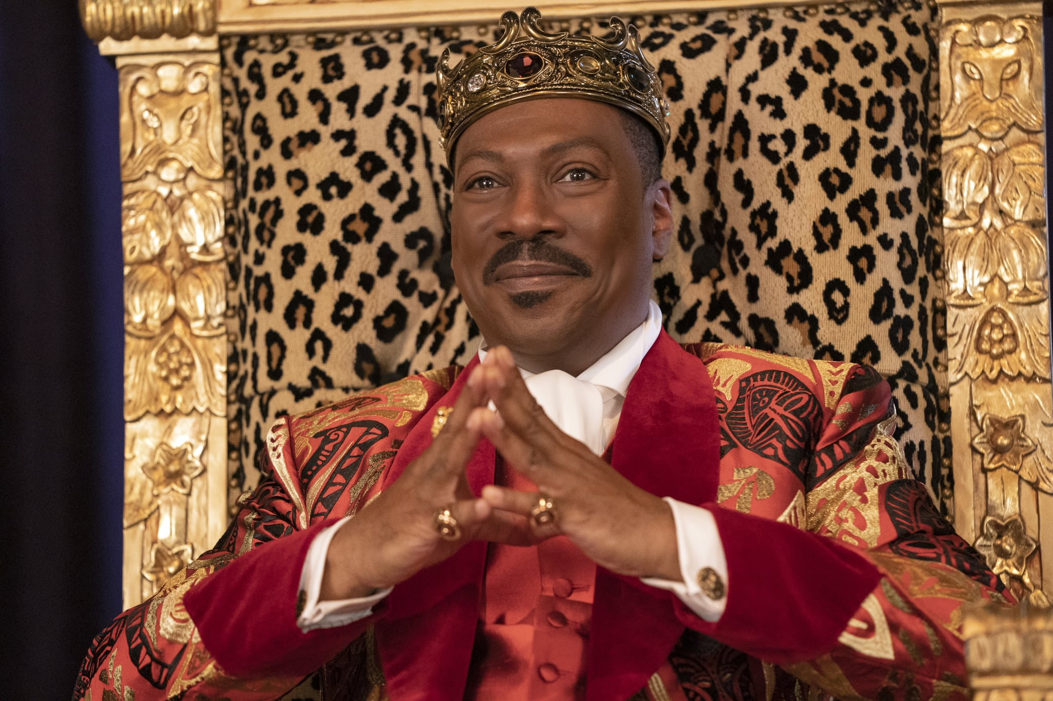 Eddie Murphy stars in COMING 2 AMERICA Photo: Quantrell D. Colbert© 2020 Paramount Pictures
