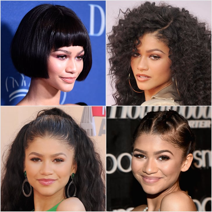 The Many Wigs of Zendaya — Because No One