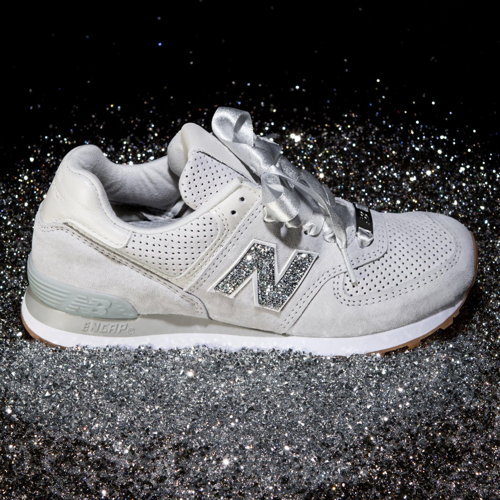 New Balance Swarovski Crystal Sneakers
