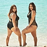 Ashley Graham's Swimsuits For All Campaign With Her Sister