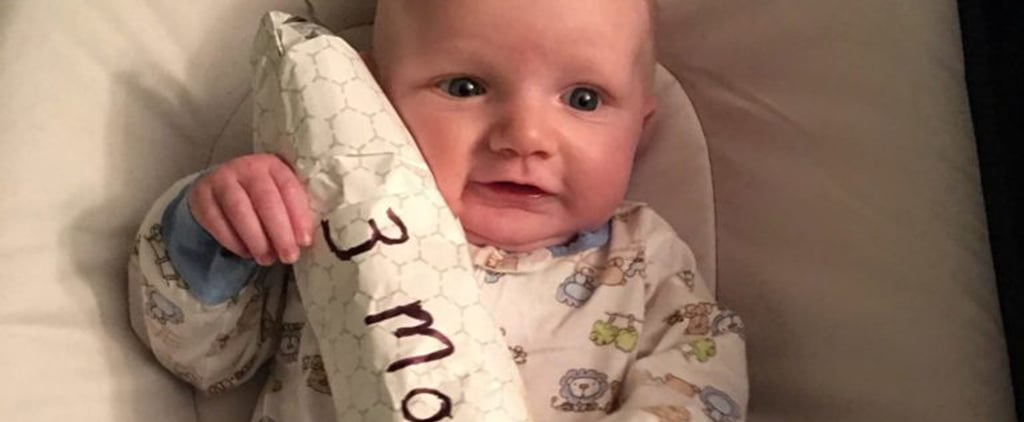 Dad Uses Cheesesteaks to Mark Baby's Monthly Growth