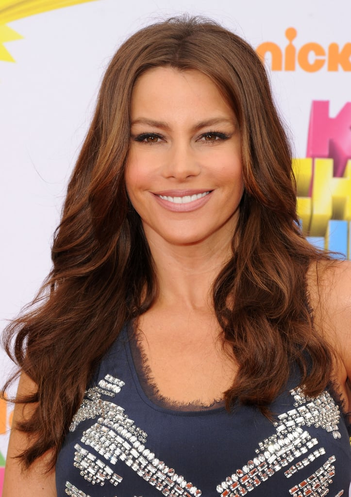 Sofia Vergara's Chestnut Hair Color