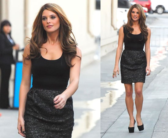 Pictures of Ashley Greene at Jimmy Kimmel