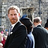 Prince Harry and Meghan Markle at Princess Eugenie's Wedding