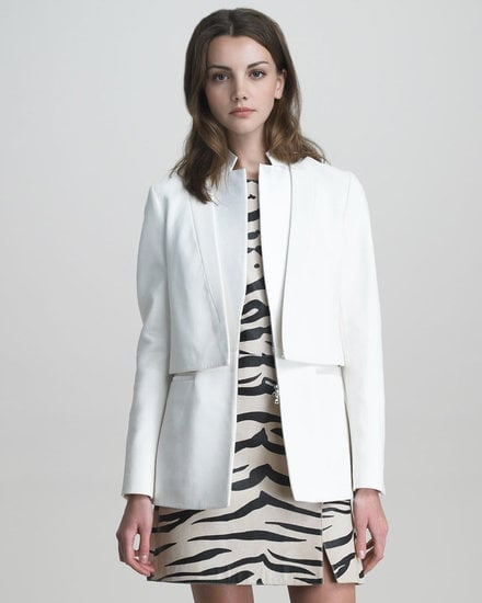 This 3.1 Phillip Lim white layered tuxedo jacket ($510, originally $850) is truly a work of art, and so undeniably unique that it's worth every penny.