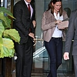 Jennifer Garner was in LA.