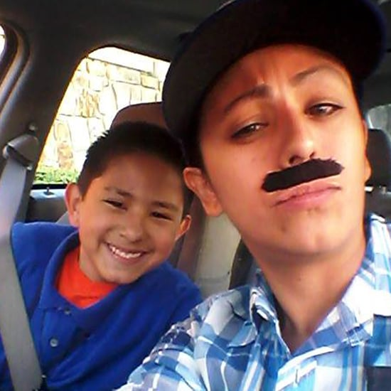 Mom Dresses as Man For Donuts With Dad Day (Video)