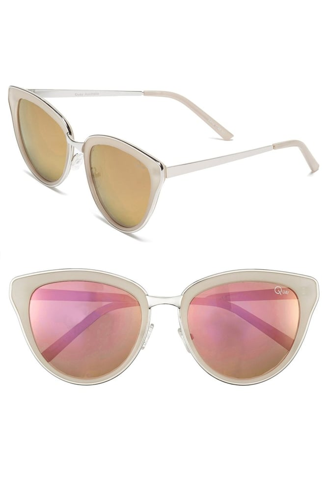 Quay 'Every Little Thing' 54mm Cat Eye Sunglasses ($55)