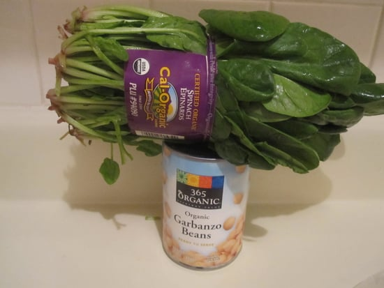 Spinach With Garbanzo Bean Recipe