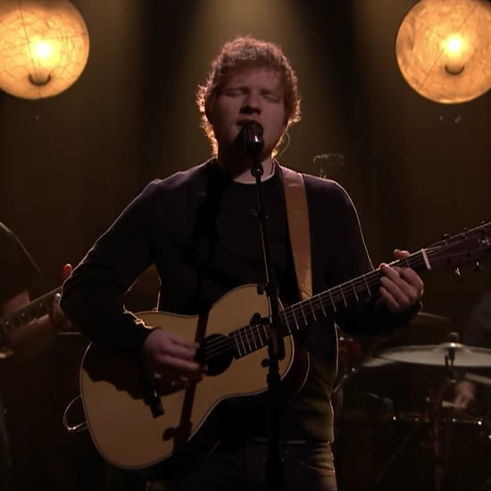 "Ed Sheeran Singing ""Castle on the Hill"" on The Tonight Show"