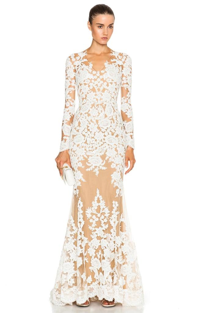 Zuhair Murad Lace Mermaid Gown (£6,134)