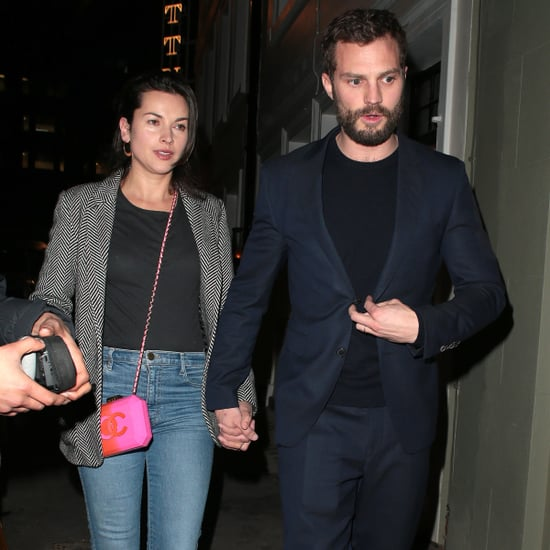 Jamie Dornan and Amelia Warner Out in London Jan. 2018