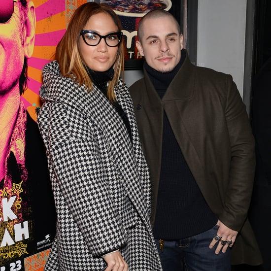 Jennifer Lopez and Casper Smart at Rock the Kasbah Premiere