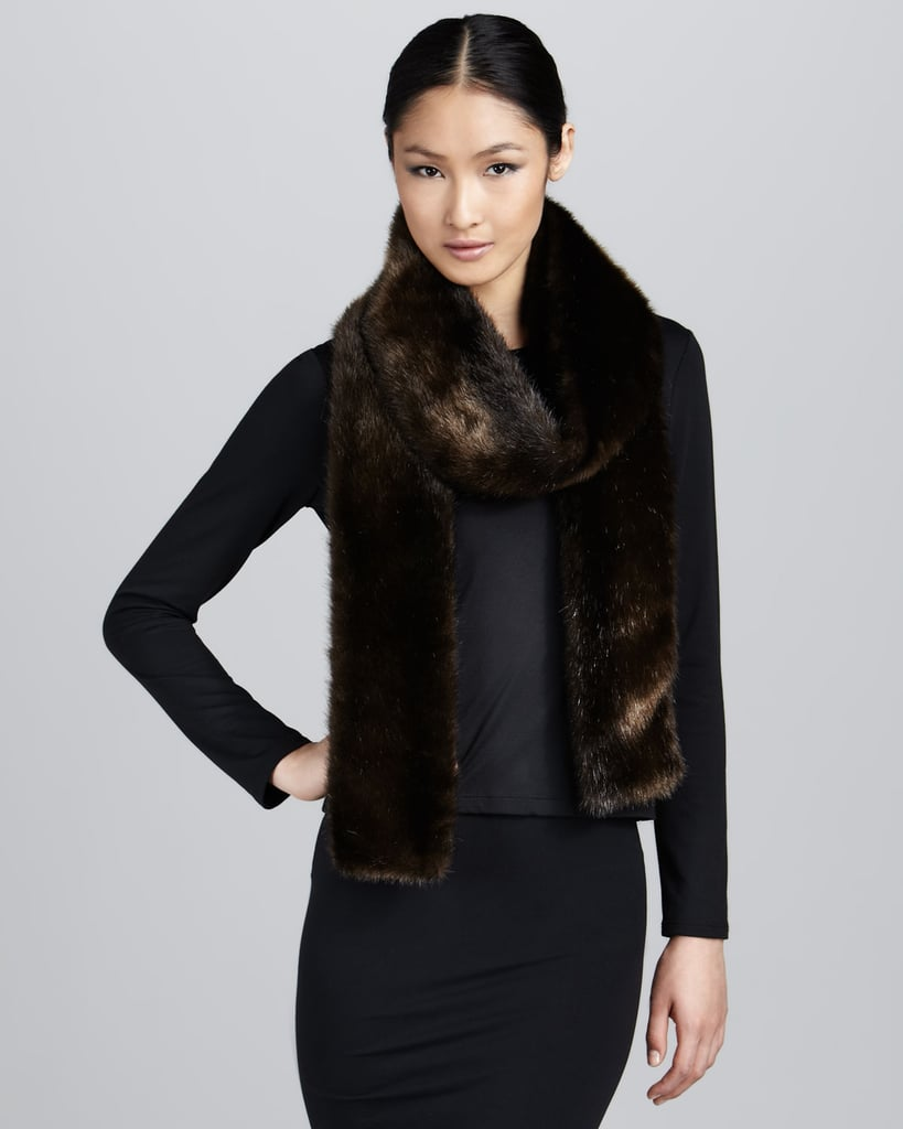Rachel Zoe's Long Faux-Fur Scarf ($112, originally $150) would stun even the most sartorial eye.