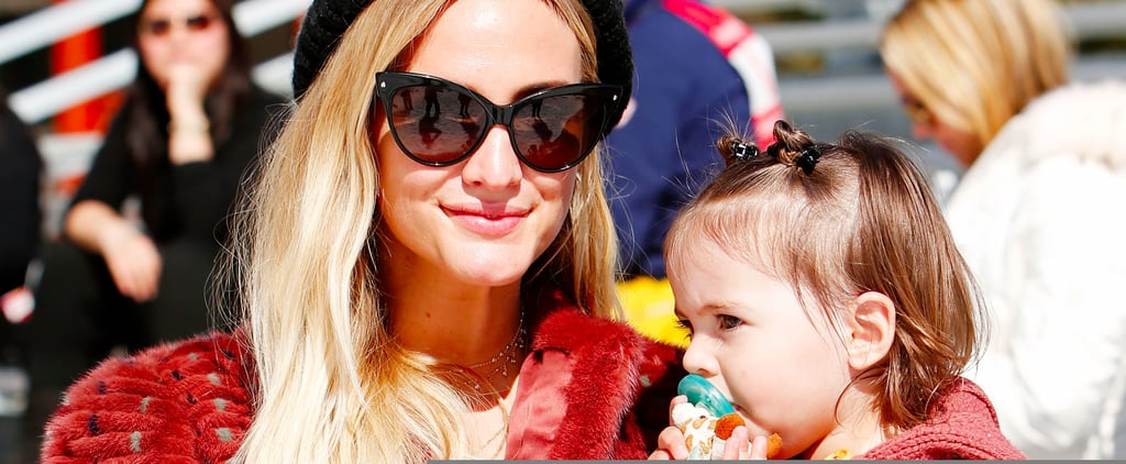 Ashlee Simpson and Her Family at Operation Smile Ski Event