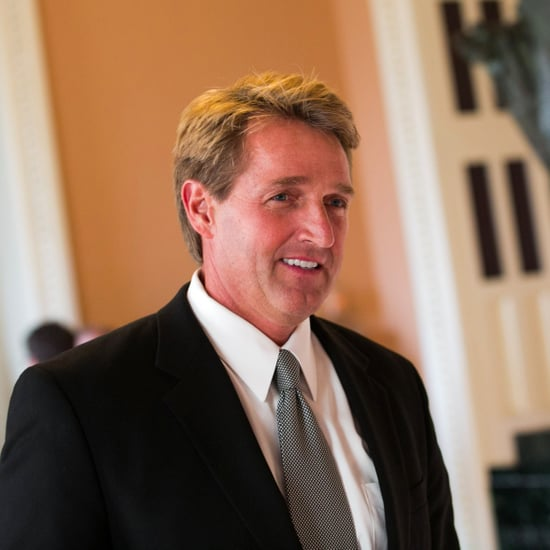 Senator Jeff Flake Offers Encouragement to Deedra Abboud