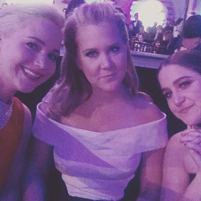 Amy Schumer and Jennifer Lawrence Had the Ultimate Girls' Night at the Golden Globes