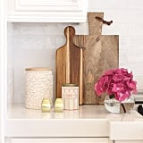 The finds: a few gorgeous wooden cutting boards.