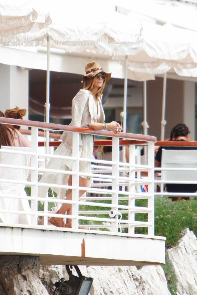 May 22: Carine Roitfeld at Amend Charity Luncheon, Hotel du Cap